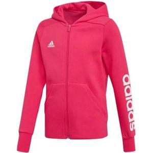 Adidas Girl's Linear Zip Hoodie NWOT